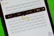 【iPhone】コツをつかめば簡単? テキストを範囲選択してコピペする方法を徹底解説