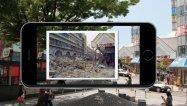 阪神・淡路大震災から20年、街角で当時の写真と比較できるAR 神戸新聞が公開