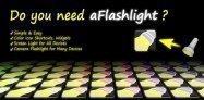 アプリ「ライト」スマホをシンプルな懐中電灯に変身させる #Android
