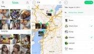 LINEの友だちと画像や動画を簡単に共有できるアプリ「LINE Toss」が登場
