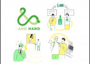 【LINE】目や耳の不自由な人とサポートしたい周囲の人をつなぐチャットボット「&HAND」、LINE BOT AWARDSグランプリに