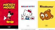 LINEの着せかえにミッキーマウス、ハローキティ、リラックマが登場──プレゼントも可能に