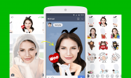 LINE、自撮り写真をスタンプ化してトークで送れるアプリ「ycon」をリリース 通常スタンプのような透過画像に加工