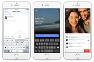 Facebookで実況、動画のライブ配信機能が一般公開 写真・ビデオのコラージュ投稿も可能に