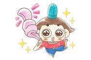 【LINE無料スタンプ】『LINE パズル タンタン×おじゃる丸』が登場、配布期間は7月22日まで