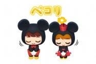 【LINE無料スタンプ】『ディズニー ポップタウンスタンプ』が登場、配布期間は10月21日まで