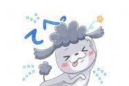 【LINE無料スタンプ】『LINEモバイル × 犬と猫 アニメ版』が登場、配布期間は9月9日まで