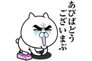 【LINE無料スタンプ】『目ヂカラ☆にゃんこ【花粉症ver.】』が登場、配布期間は12月28日まで