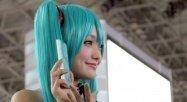 「初音ミク」だけのコンパニオン写真特集:東京ゲームショウ2013