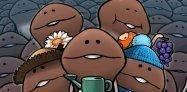 「おさわり探偵 なめこ栽培キットSeasons」がアップデート、8月のテーマは「四季」