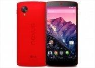 イーモバイル、Nexus 5のブライトレッドを3月14日より発売