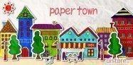 アプリ「paper town ライブ壁紙」ペーパークラフトで作られた街並みが動く #Android