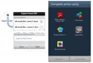 Adobeは、Android向け「Adobe Reader」アプリを最新アップデートし(v11.1.0)、アプリ内で利用できる「Adobe PDF Pack」および「Adobe ExportPDF」サービスの提供を有料アドオンとして開始した。     今回のアップデートでは「Adobe Reader」アプリのマイアカウント画面で、「Adobe PDF Pack」と「Adobe ExportPDF」の2タイプのサービスに登録が行えるようになっている。  「Adobe PDF Pack」では、Word、Excel、PowerPointファイルからpdfファイルを作成したり、反対にpdfファイルをWord、Excel、PowerPointファイルに書き出すことができる。一部の画像データもpdf変換可能。また、Acrobat.comの50GBの無料ストレージも提供される。。  「Adobe ExportPDF」では、pdfファイルをWord、Excel、リッチテキスト(RTF)に変換できるほか、スキャンしたテキストが光学文字認識(OCR)で編集可能となる。さらに、Acrobat.comの10GBのストレージが無料提供