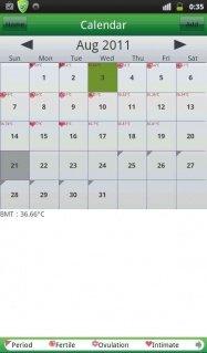 アプリ「期間(月経)トラッカー」月経周期把握のためのカレンダーアプリ #Android