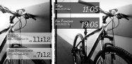 アプリ「Band O'Clock」カスタマイズ可能なクール系の時計ウィジェット #Android
