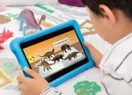 アマゾンが「Fire HD 8 キッズモデル」発売、児童書や知育アプリ等の1年使い放題がついて1万4980円
