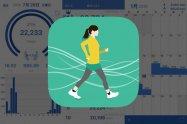 手軽に使えて歩行データが見やすい、万歩計アプリ「歩数計Maipo」