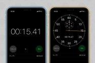 iPhoneでストップウォッチを使う方法──アナログ表示とラップタイム・スプリットタイムの計測にも対応