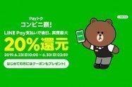 【LINE Pay】コンビニが対象の最大20%還元キャンペーン(Payトク)攻略方法と注意点