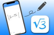 √や三角関数、対数に対応 手書き入力で複雑な計算もこなせる「MyScript Calculator」
