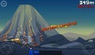 ゲーム「Extreme Road Trip」過激なトリックを決めつつ走行距離を競うカーアクション #Android