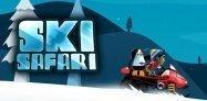 ゲーム「Ski Safari」雪崩に巻き込まれず、どこまで滑降できるか #Android