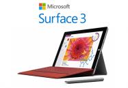 ソフトバンク、LTE対応版「Surface 3」を6月19日発売 81,800円から
