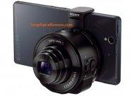 Sonyが噂のレンズカメラ「QX10」「QX100」を発売へ、スマホに外付けして撮影