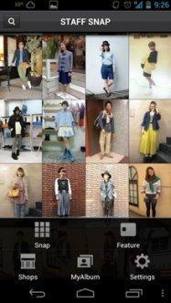 アプリ「Staff Snap(スタッフスナップ)」アパレルショップ店員のおしゃれな着こなしをチェック #Android