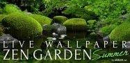 猛暑の今夏、風鈴つきライブ壁紙「Zen Garden -Summer-」で涼しさを堪能