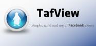 アプリ「TafView (beta)」高速表示のFacebook専用ブラウザ、一連の必要機能と使いやすいUIを搭載 #Android