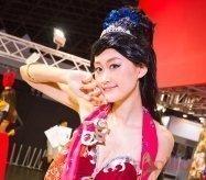 【東京ゲームショウ2016】コンパニオン写真ギャラリー5:美人コスプレイヤーを中心に(2)