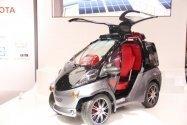 トヨタのコンセプトカー「Smart INSECT」で、未来のクルマを見た[CEATEC 2012]