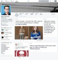Twitterがレイアウトを大幅に変更か──FacebookやGoogle+のようなデザインに