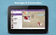 「Viber」がメジャーアップデート、タブレット対応や通話品質向上、ステッカーなど