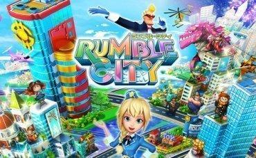 コロプラ、街づくりゲーム「ランブル・シティ」を提供開始