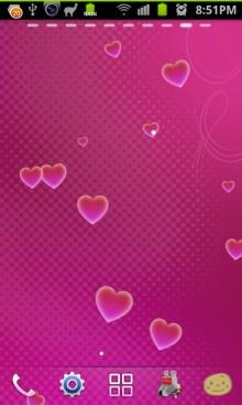 android-ハートライブ壁紙 Hearts